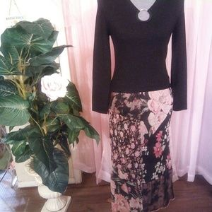 Sale! BOGO 50% OFF! Floral Maxi Skirt